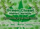 Green Closet Delivery Services, Riverside, CA