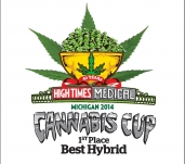 1st Place Hybrid Winner @ Michigan High Times Cannabis Cup