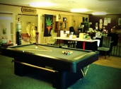 Come relax and shoot a game of pool!