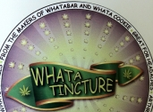 Whata Tinture is a topical tincture that is applied directly to the skin (not for ingesting), that alleviates pain and relaxes muscles.