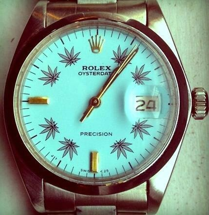 rolex-weed-bling