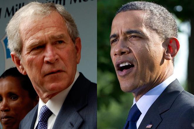 bush-vs-obama