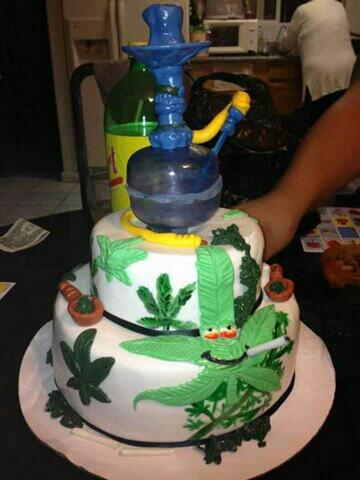 The Ultimate Stoner Birthday Cake Fun Marijuana Blog THC