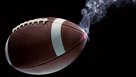 football-cannabis